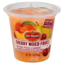 Del Monte Fruit Naturals Mixed Fruit, Cherry