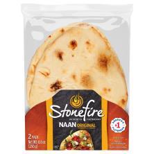 Stonefire Naan, Original, 2 Pack