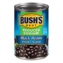 Bushs Best Black Beans, Reduced Sodium