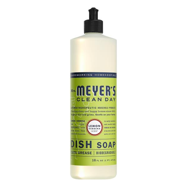 Meyers Clean Day Dish Soap, Lemon Verbena Scent