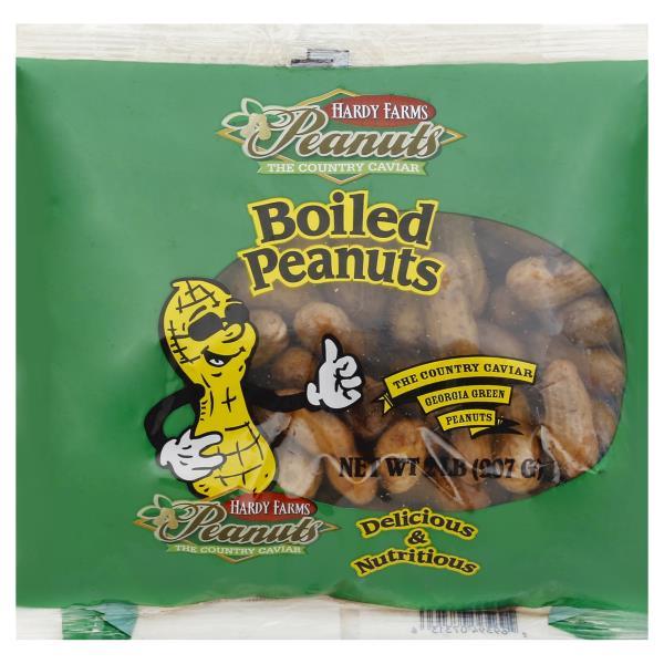 Hardy Farms Peanuts Peanuts, Boiled