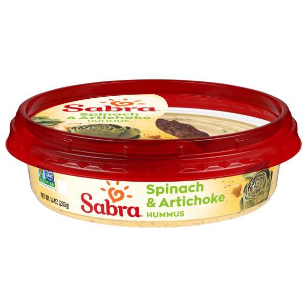 Sabra Hummus, Spinach and Artichoke