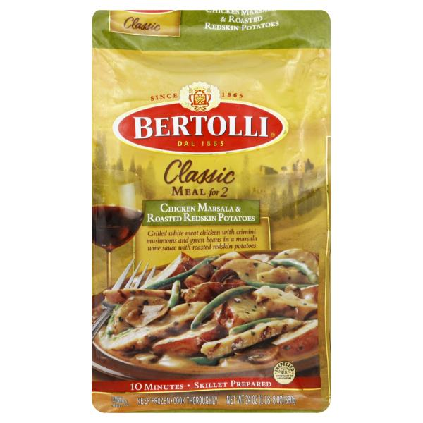 Bertolli Classic Meal For 2 Chicken Marsala Roasted Redskin