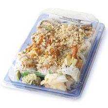 Afc Sushi Tempura Roll Prepared in Store, Ready to Eat