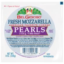 BelGioioso Cheese, Fresh Mozzarella, Pearls