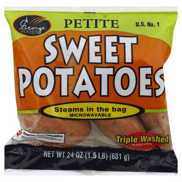 George Foods Sweet Potatoes, Petite