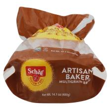 Schar Bread, Gluten Free, Multigrain, Artisan Baker