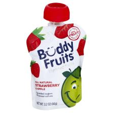 Buddy Fruits Fruit to Go, Pure Blended, Apple & Strawberry