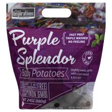 Potato Inspirations Potatoes, Purple Splendor, 2 Bites