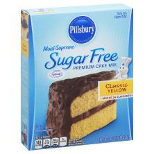 Pillsbury Moist Supreme Cake Mix Premium Sugar Free