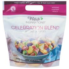 Potato Inspirations Potatoes, Celebration Blend, 2 Bites