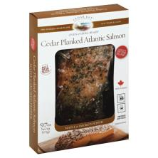 Cedar Bay Salmon, Atlantic, Cedar Planked, Maple & Smoked Pepper