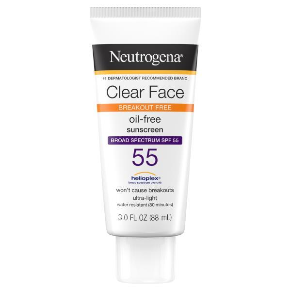 NEUTROGENA Regular Facial Moisturisers, Lotion, Oily Skin