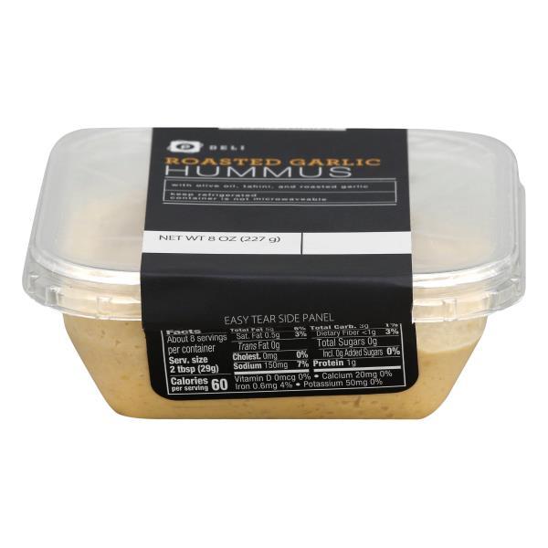 Publix Deli Hummus, Roasted Garlic