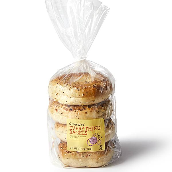 GreenWise Everything Bagels 4-Count