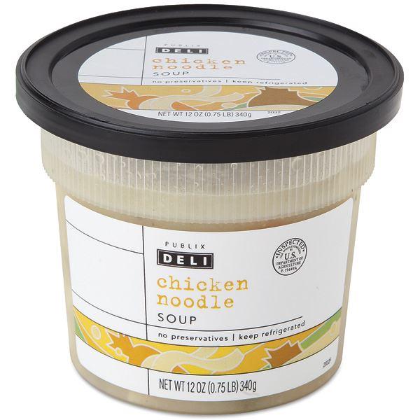 Publix Deli Soup, Chicken Noodle