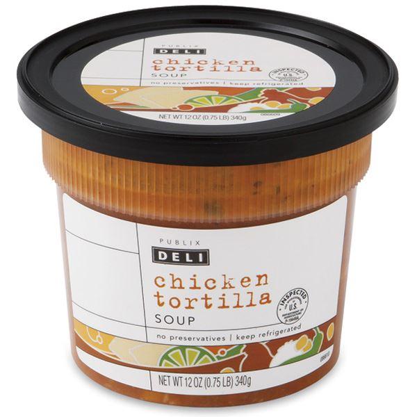 Publix Deli Chicken Tortilla Soup
