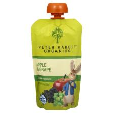 Pumpkin Tree Peter Rabbit Organics Fruit Puree, Organic, Apple & Grape