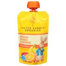 Pumpkin Tree Peter Rabbit Organics Fruit Puree, Organic, Banana, Mango & Orange