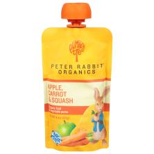 Pumpkin Tree Peter Rabbit Organics Fruit & Vegetable Puree, Organic, Apple, Carrot & Squash