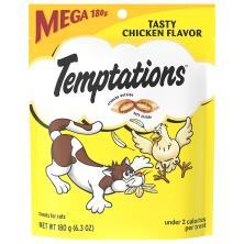 Temptations Treats for Cats, Tasty Chicken Flavor, Mega