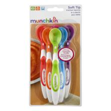 Munchkin Infant Spoons, Soft-Tip, 3+ Months