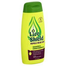 Lice Shield Shampoo & Conditioner, In 1