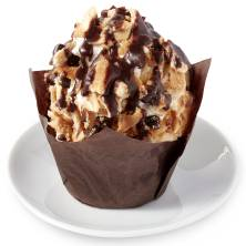 Cupcake Downtown Cannoli 360 Cal/Cupcake