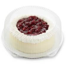 New York-Style Cherry Cheesecake