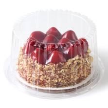 New York-Style Strawberry Cheesecake