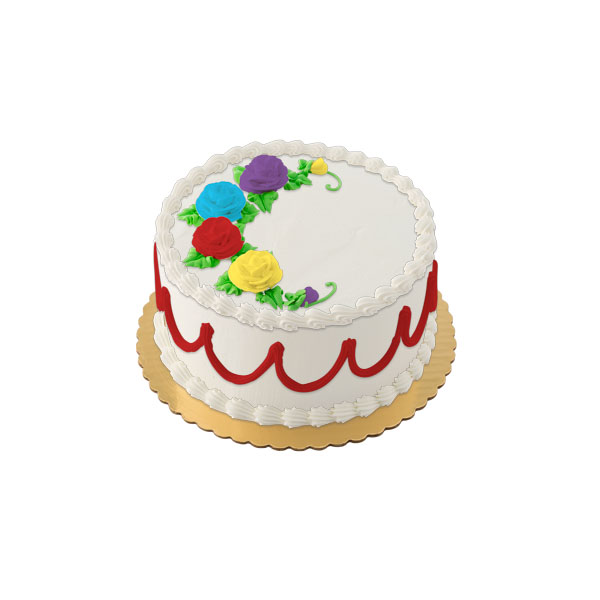Whipped Topping Round Iced Cake Publix Com