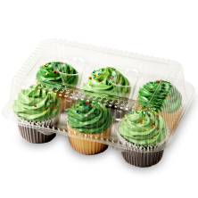 Buttercream Iced Assorted Cupcakes 6 Count