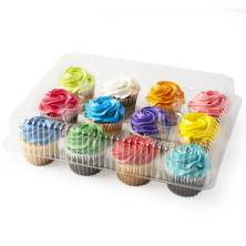 Buttercream Iced Assorted Cupcakes, 12-Count