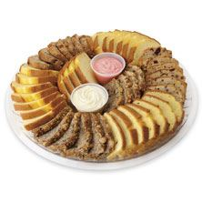 Loaf Cake Platter Large 56-Count