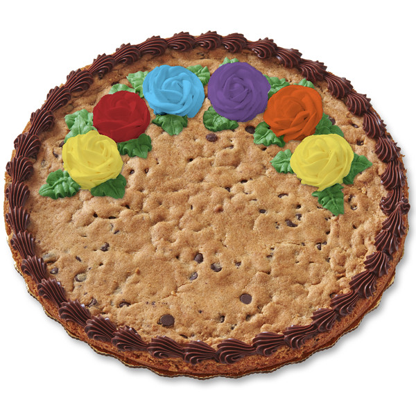 """12"""" Decorated Chocolate Chip Cookie"""
