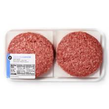 Ground Chuck Burgers, Publix Beef USDA-Inspected
