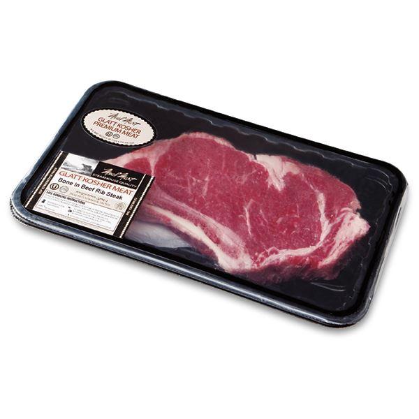 Alle Bone in Rib Eye Steak, Kosher Beef