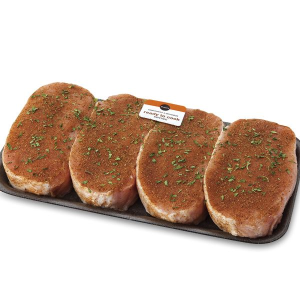 Publix Badia Jerk Style Seasoned, Boneless Pork Chops