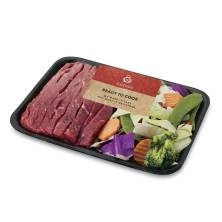 Aprons Top Round Steak, for Stir Frywith Vegetables