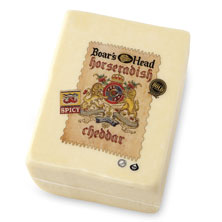 Boar's Head Horseradish Cheddar Cheese