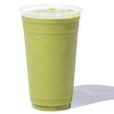 Large Green Smoothie with Fresh Spinach