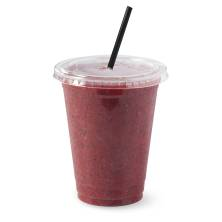 Large Mixed Berry Smoothie with Fresh Fruit