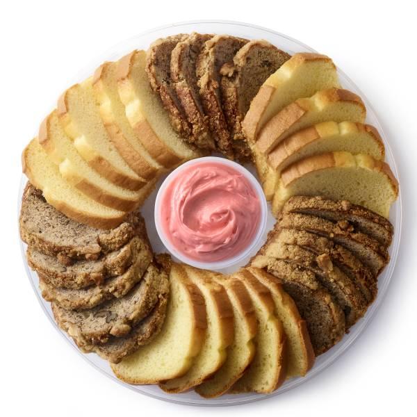 Loaf Cake Platter Medium 28-Count