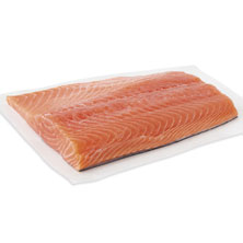 Salmon Fillets, Fresh, Farmed, Responsibly Sourced