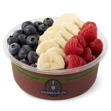 Small Acai Bowl with Fresh Fruit