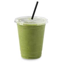 Small Green Smoothie with Fruit and Spinach
