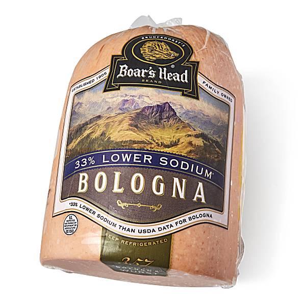 Boar's Head Bologna, 33% Lower Sodium