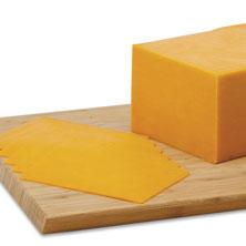 Boar's Head Sharp Cheddar Cheese, Yellow, Black Wax