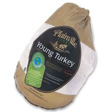 Plainville Whole Turkey 16-18 Pounds, Raised Without Antibiotics