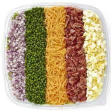 Publix Deli 7 Layer Salad Platter Medium